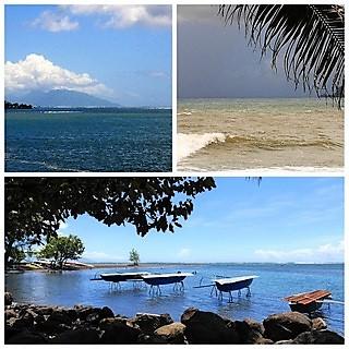Croisière tour du monde Austral 2017 Jean-Luc et Claudine Second jour d'escale à Papeete (Tahiti)