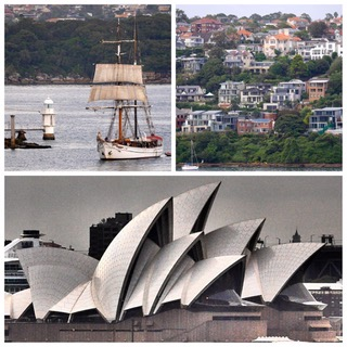 Croisière tour du monde Australe 2017 Claudine et Jean-Luc en Escale à Sydney