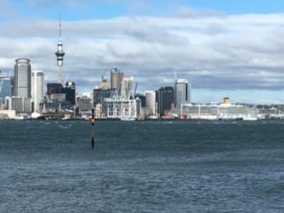 Croisière tour du monde Australe 2017 Escale à Auckland par Jacques Charles