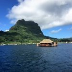 Croisière tour du monde Australe 2017 Jacques Charles en escale à Bora Bora