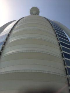 Jacques Charles en Escale pour la visite de Dubaï