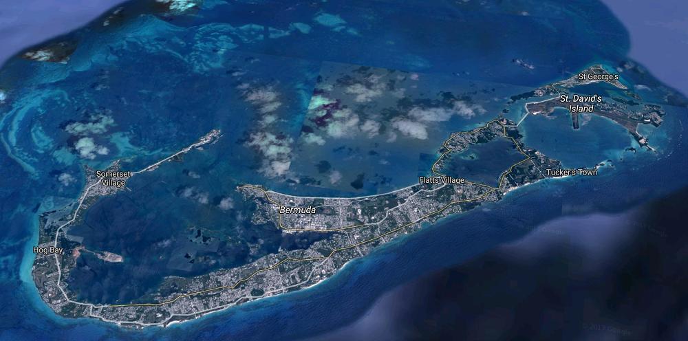 Escale aux Bermudes