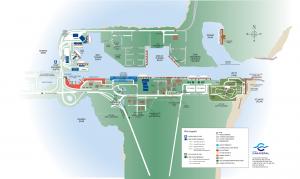 Carte du port de Cap Canaveral
