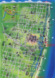 Carte touristique Fort Lauderdale