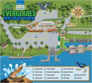 Carte Everglades Holiday Park