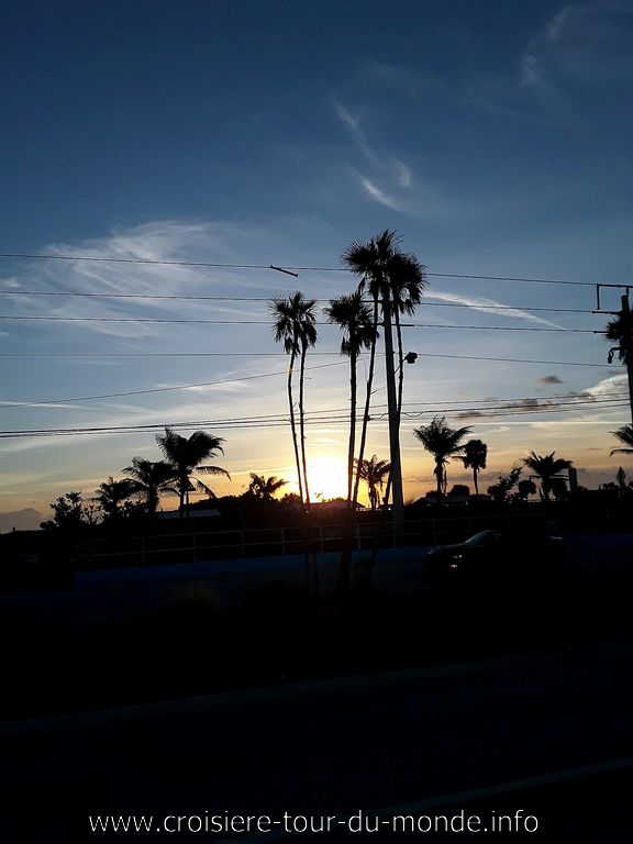 Lever du soleil à Cap Canaveral