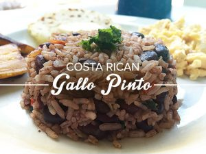Gallo Pinto Costaricain