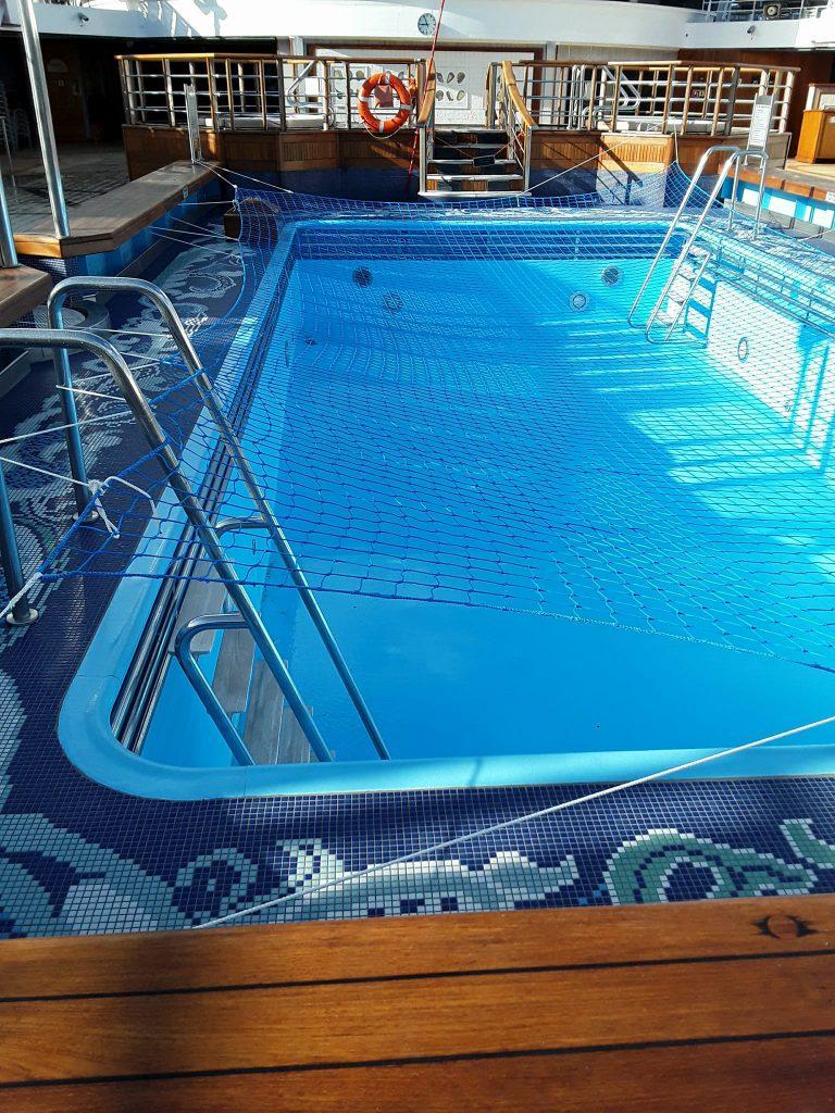 La piscine du Queen Victoria est fermée