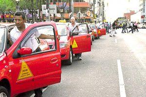Taxi Puntarenas au Costa Rica