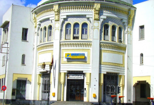 Bureau de poste Place Zallaqa à Casablanca