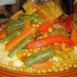 Couscous marocain au sept légumes
