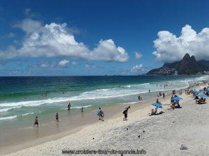 Escale à Rio de Janeiro au Brésil La Plage IPANEMA