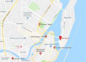 Poste à Recife