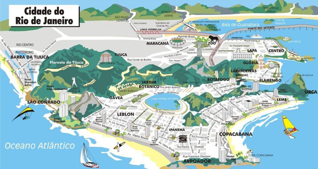 plan touristique rio de janeiro