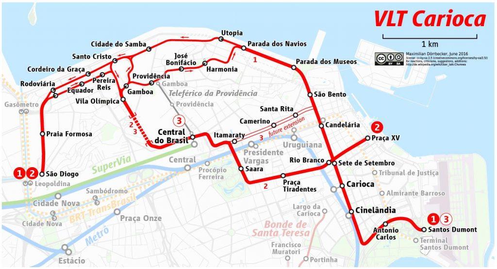 plan tramway vlt rio de janeiro