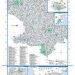 Carte touristique de Montevideo en Uruguay