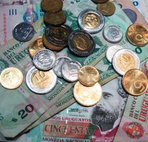Devise pesos Uruguay