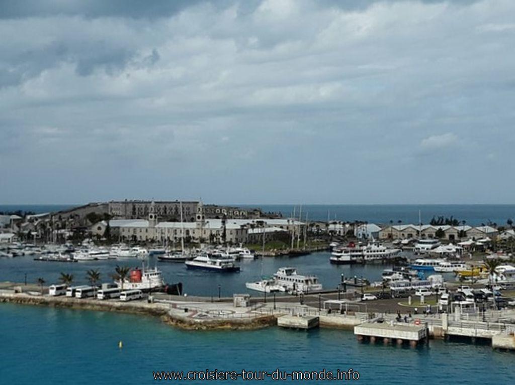 des nouvelles des passagers de la croisi re tour du monde qv2018 escale hamilton aux bermudes. Black Bedroom Furniture Sets. Home Design Ideas