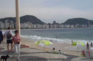 Escale à Rio de Janeiro au Brésil Copacabana