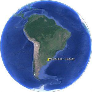 Montevideo dans le monde