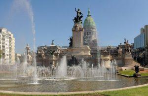 Plaza del Congreso Buenos Aires