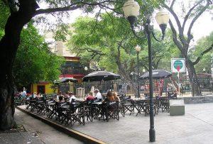 Plazoleta Julio Cortázar Buenos Aires