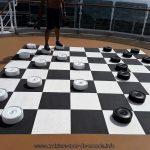 Vie à bord du Queen Victoria jeux extérieurs