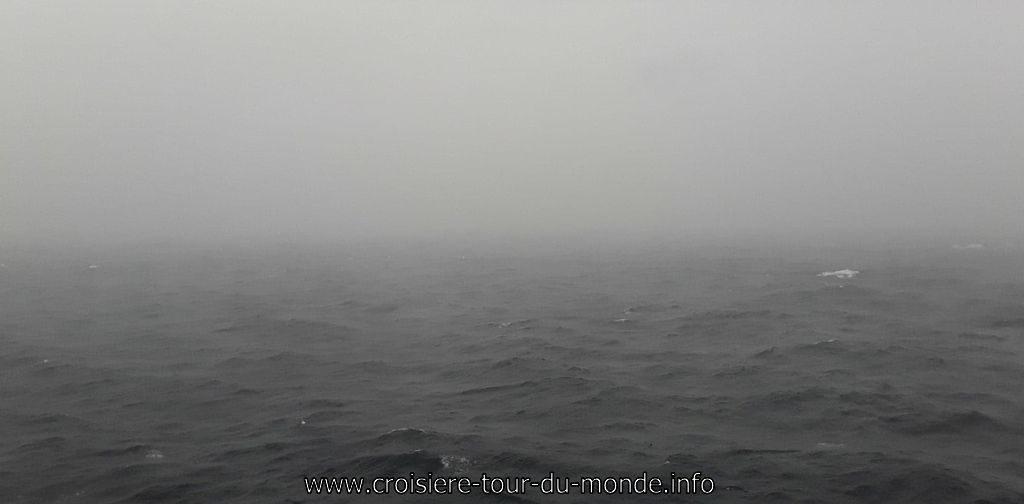 Vie à bord du Queen Victoria météo pourrie
