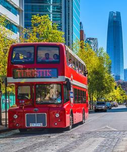 Bus Hop On Hop Off Turistik de Santiago du Chili