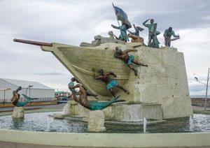 Monumento Goleta Ancud de Punta Arenas au Chili