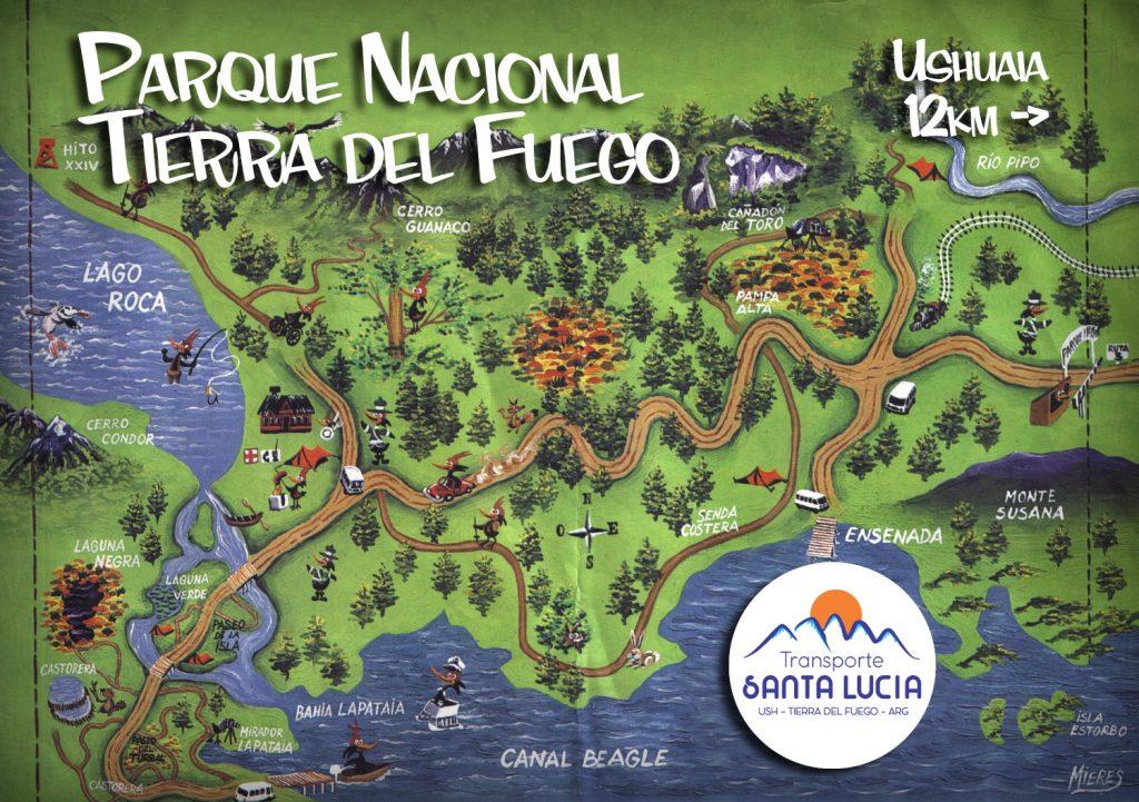 Parque Nacional terra del Fuego Ushuaïa