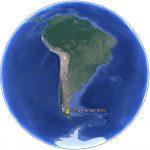 Punta Arenas au Chili situation dans le monde