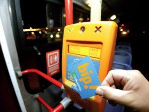 Tarjeta Bip-transantiago Carte transport Santiago du Chili