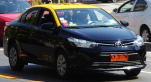 Taxi Santiago du Chili