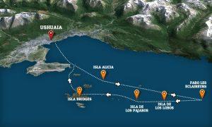 excursion maritime dans le canal de Beagle Ushuaïa