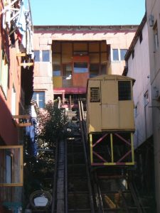 Ascensor Mariposas Valparaiso