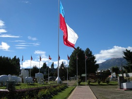 Monumento al ovejero y plaza Pioneros Coyhaique