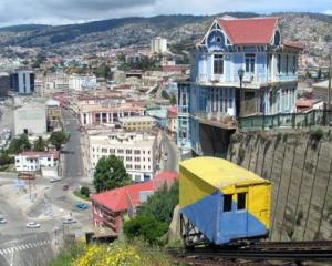 Paseo 21 de mayo de Valparaiso au Chili