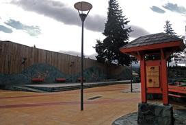 Plaza Mirador de Rio Coyhaique