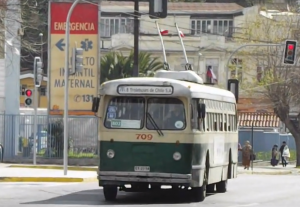 Trolley bus de Valparaiso