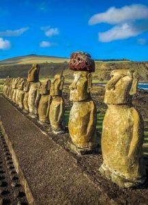 Visite du Site de Ahu Tongariki à Île de Pâques