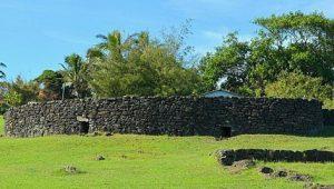 hare moa sur l'Île de Pâques