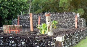 'Ārahurahu Marae à Tahiti