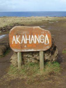 Ahu Akahanga île de Pâques