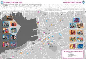 Carte du Street-art de Papeete