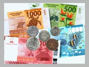 Le franc pacifique - monnaie tahiti en Polynésie française