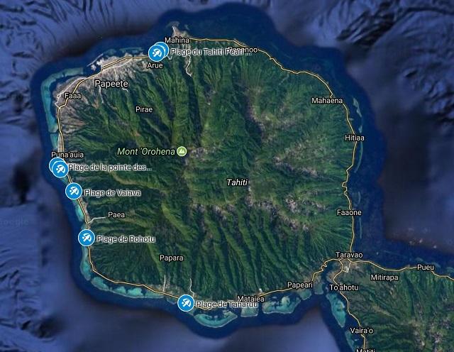 Les Plages de Tahiti