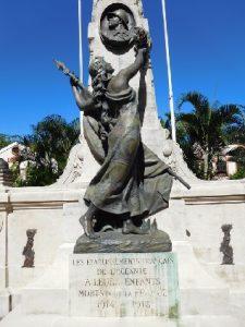 Monument aux Morts pour la France à Papeete