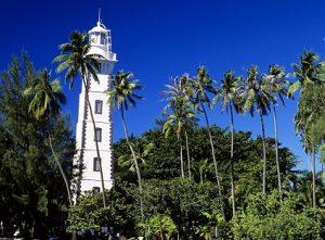 Phare de la Pointe Vénus à Tahiti