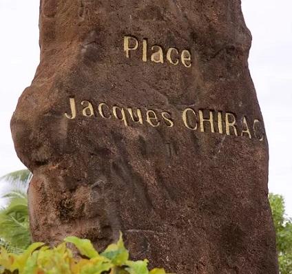 Place Jacques Chirac à Papeete